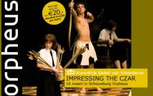 Programmaflyer Orpheus schouwburg & congrescentrum