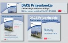 Advertenties en banners voor het Dace prijzenboekje