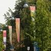 Koninginnedag   150 banieren in het centrum Apeldoorn