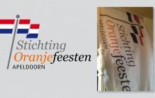 Logo en vlag Stichting Oranjefeesten Apeldoorn