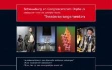 Theaterarrangementen Orpheus schouwburg & congrescentrum