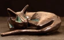 Bronzen beeld 'Chung'